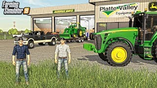 STARTING A NEW FARM IN IOWA WITH $3,000,000! (ROLEPLAY) | FARMING SIMULATOR 2019