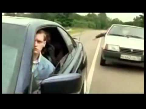 How Russians deal with road rage