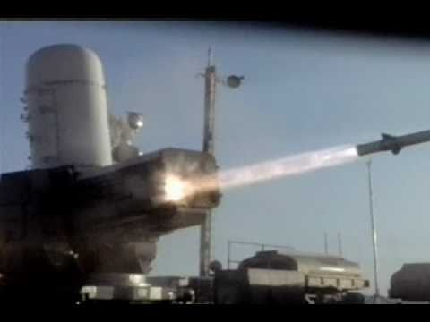 Raytheon - Phalanx Close-In Weapon System (CIWS) & SeaRAM Anti-Ship Missile Defense System [480p]
