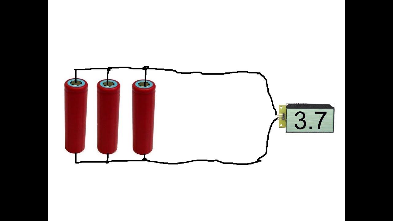 Как запараллелить аккумуляторы схема