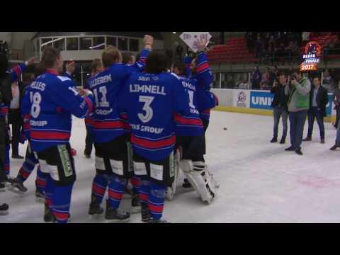 Samenvatting Bekerfinale 2017 UNIS Flyers Heerenveen vs. Laco Eaters Limburg (8-1)