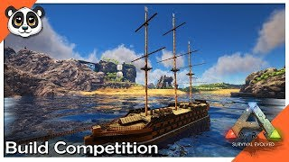 ARK: Survival Evolved Raft Build Competition!!!