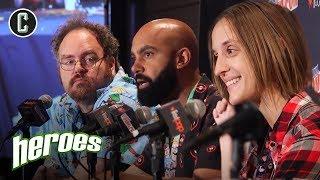 Heroes Panel - NYCC 2017