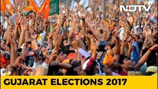 Gujarat Election Results: Early trends show BJP ahead in 97 seats