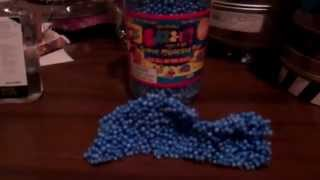 Gazz-It Review(blue) moldable, styrofoam/foam compound.
