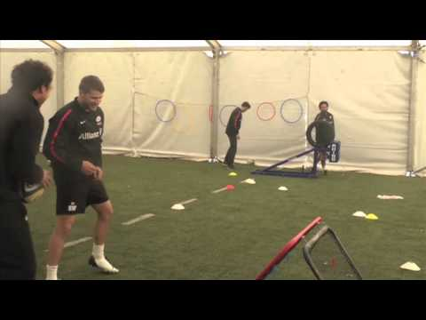 Saracens Training Challenges