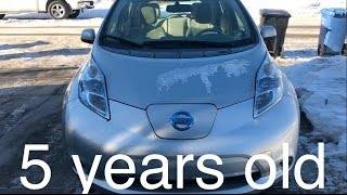 Nissan Leaf 5 year review