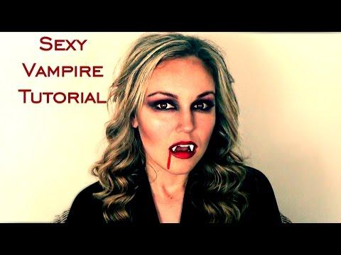 Halloween Tutorial: Sexy Vampire