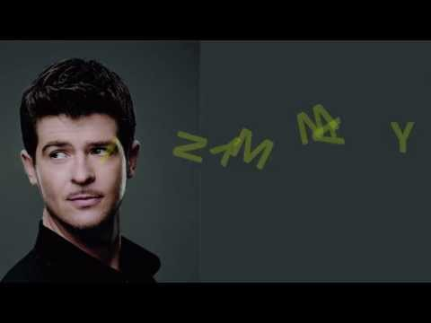"""Get In My Way"" - Robin Thicke (Lyric Video)"