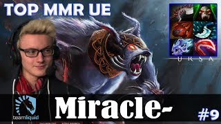 Miracle - Ursa Safelane | TOP MMR UE | Dota 2 Pro MMR Gameplay #9