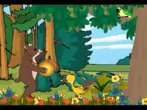 chu-chu karti aayi chidiya - Kids Animated Rhymes