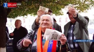 «Aranc tagi tagavor es im sireli Gagik Tsarukyan». HHK tatike Tsarukyani govqn e anum - 30.10.2014