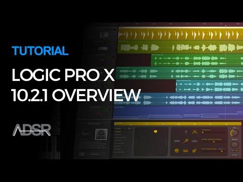 Logic Pro X 10.2.1 Update - What's new in Logic Pro 10.2.1