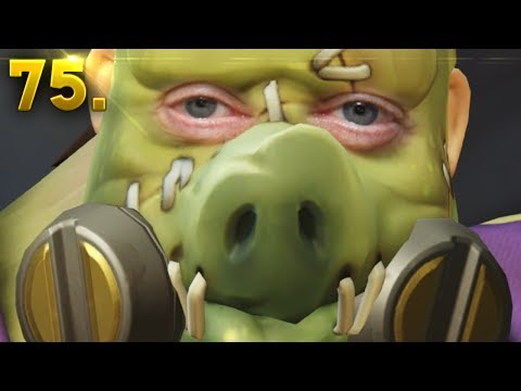 Roadhog's HOOK, How does it Work?? | OVERWATCH Daily Moments Ep. 75