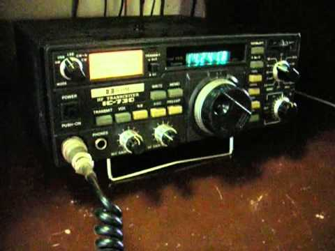 Icom IC-730 demo video