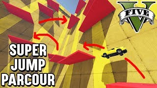 EXTREMER RUINER 2000 JUMP PARCOUR ! (GTA 5 Online)