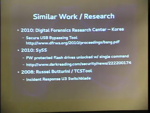 ShmooCon 2014: Controlling USB Flash Drive Controllers: Expose of Hidden Features