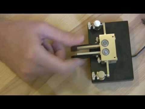 Iambic Keyer and Technique. CW Morse Code key