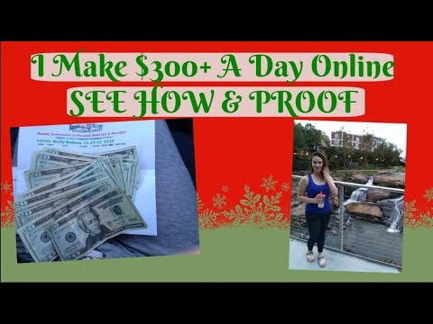 Make Money Online Fast And Easy 2018 How To Make $300 A Day Online - Legit Ways To Make Extra Money