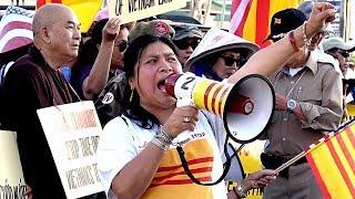 Biểu tình chống dự luật đặc khu, luật An Ninh Mạng, Thúy Nga, Vietface TV