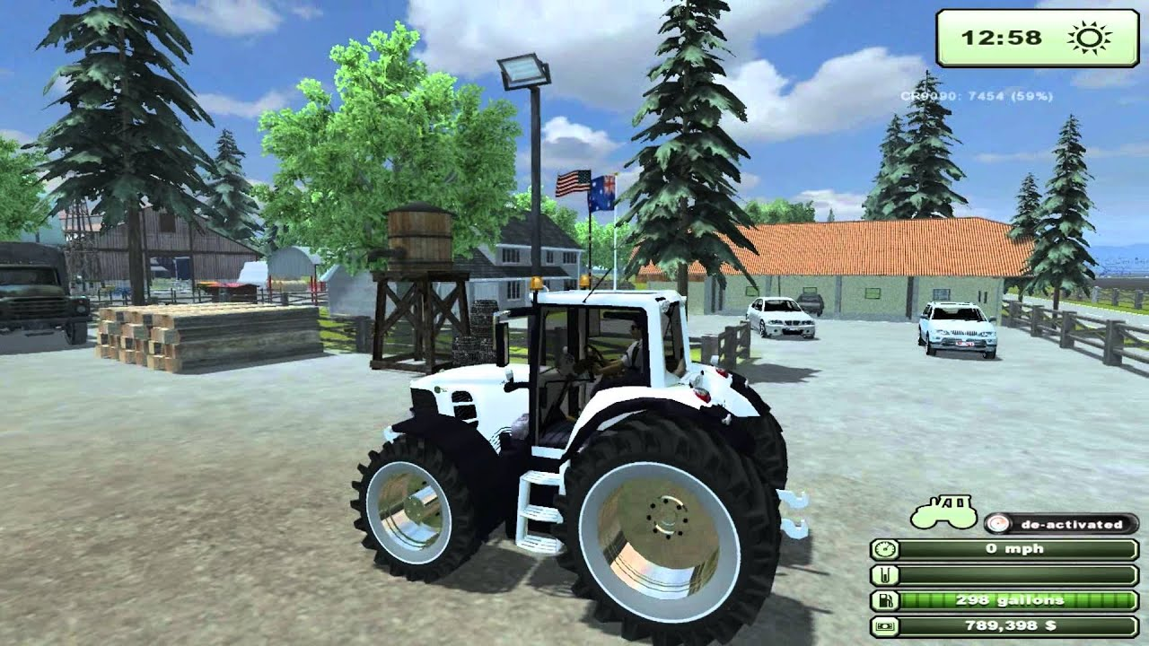John Deere 7530 White Mods Farming Simulator 2013 | Autos