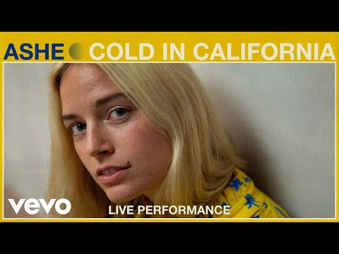 "Ashe - ""Cold in California"" Live Performance | Vevo"