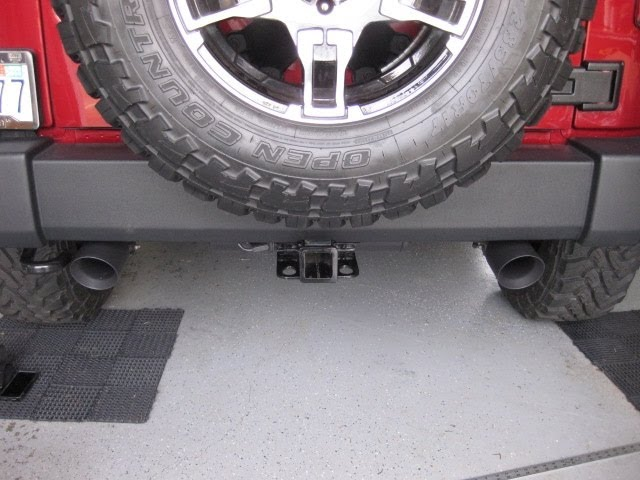 Magnaflow Black Series Exhaust on Jeep JK