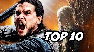 Game Of Thrones Season 8 Episode 5 TOP 10 Q&A - Iron Throne Final Battle
