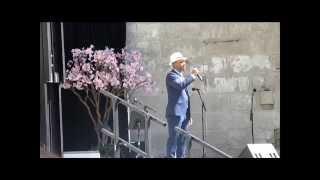 ジェロ Jero A Japan Day Nyc 2014  海雪 越後獅子の唄 津軽平野 なきむし倶楽部