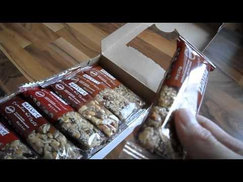 Review taste of nature organic food bar gluten free dairy free granola canada