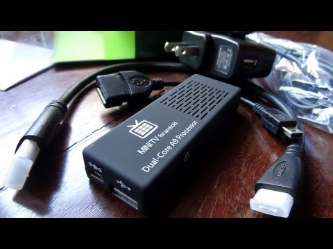Mini Android PC MK808 - XboX 360 Wireless - Full Games
