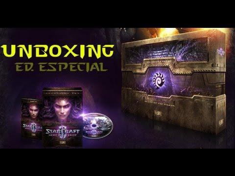 UNBOXING Edición Coleccionista Starcraft 2 - Heart of the Swarm -