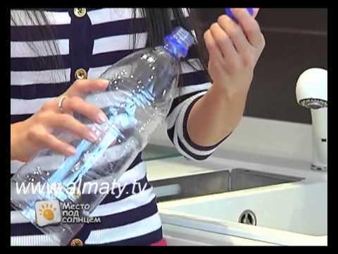 Поделки из пластиковых бутылок для туалетной бумаги 87