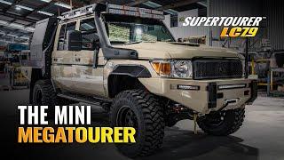 Supertourer Landcruiser 79 Build - The Mini Megatourer - Walkaround Video