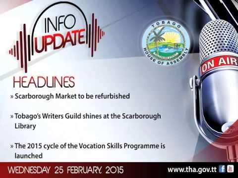 InfoUpdate - Wednesday 25 February, 2015