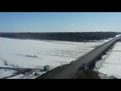 Подрыв льда на реке Чумыш