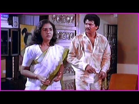 Chettu Kinda Pleader Movie Scenes -  Rajendra Prasad | Kinnera | Urvashi | Sarath Babu