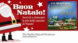 Watch Harry Belafonte The Twelve Days Of Christmas video
