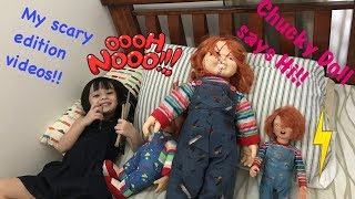 My NEW TOY DOLLS - RARE CHUCKY DOLL (SCARY TOYS EDITION) AMAZING TOYS