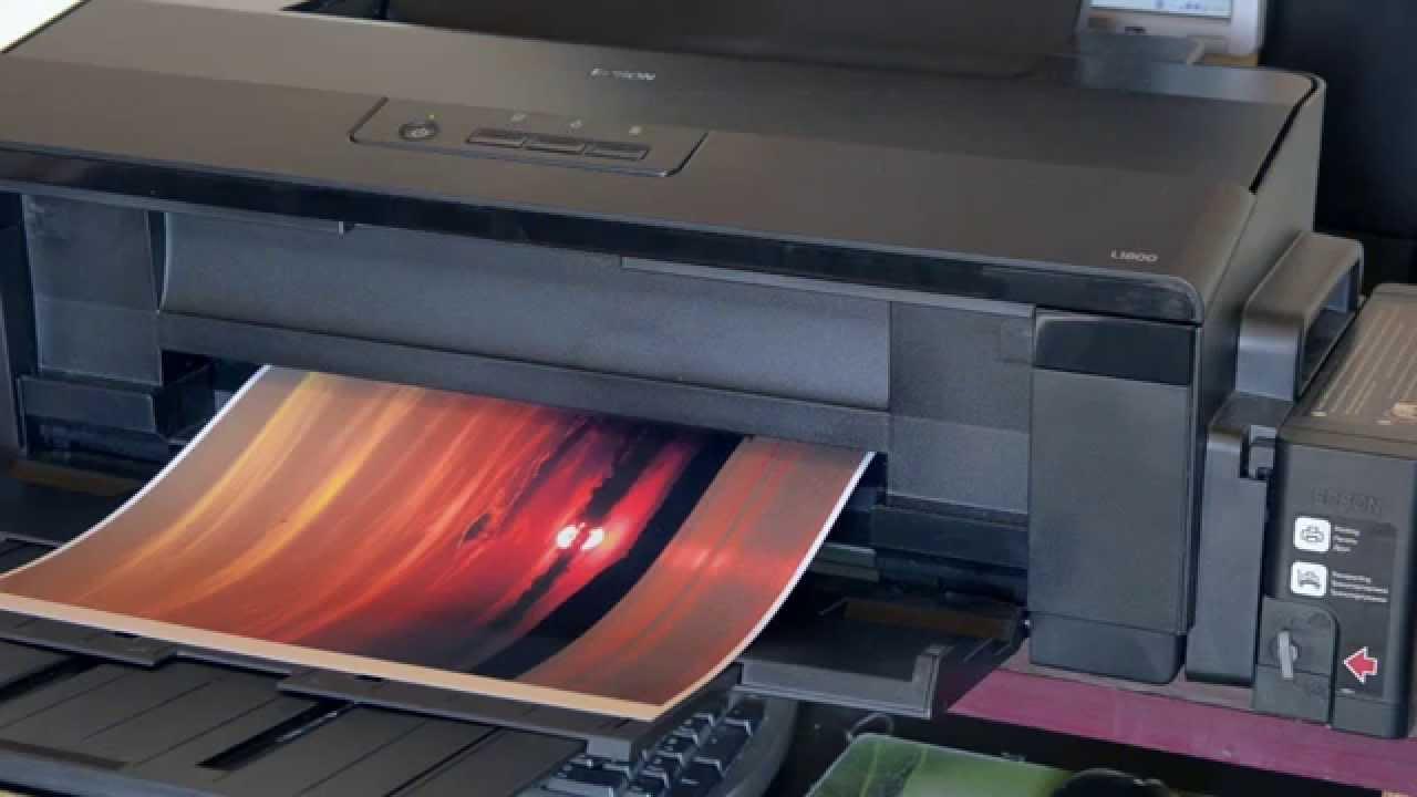 Epson L1800 Its Printer Youtube