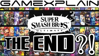 Smash Bros. Ultimate Update: The End?! Joker DLC, Mewtwo, Roy, G&W, Midgar, & Melee Remix - Week 26