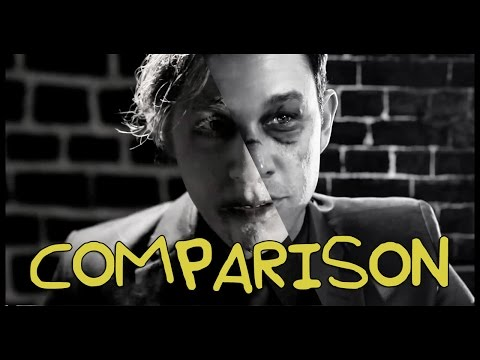 Sin City: A Dame to Kill For Trailer - Homemade with Jon D (SimplySpoons) COMPARISON
