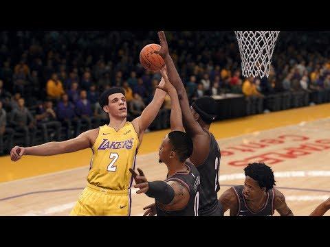 NBA Today 12/23/2017 | Los Angeles Lakers vs Portland Trailblazers Full NBA Game Live (NBA Live 18)