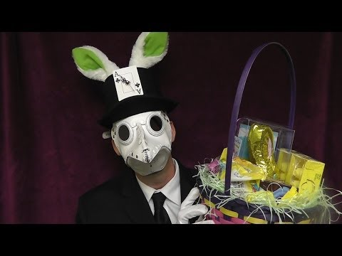 Happy Easter 2014 with Corvus Clemmons, ASMR Plague Doctor