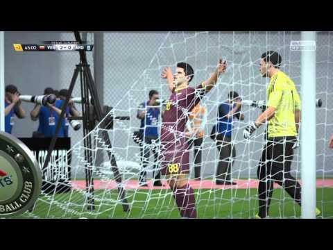 FIFA 16 Rincón Goal Length of pitch Venezuela vs Argentina