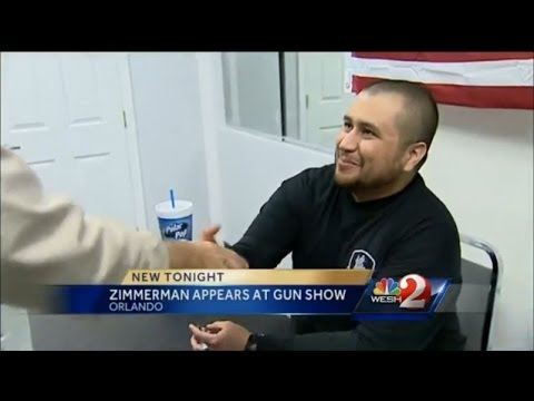 Ratchet FL~George Zimmerman makes a celebrity appearance at a gun store to sign autographs
