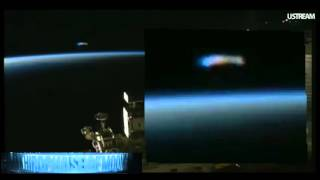 WHOA!! ALIEN STAR CRAFT VISITS ISS! NASA CAN