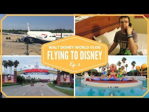 Walt Disney World Vacation 2015 Flight to Orlando