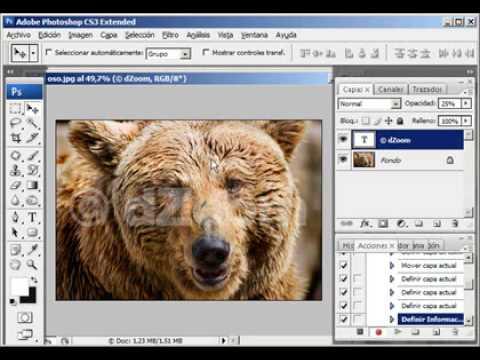 Cómo crear marcas de agua (watermarks) en Photoshop