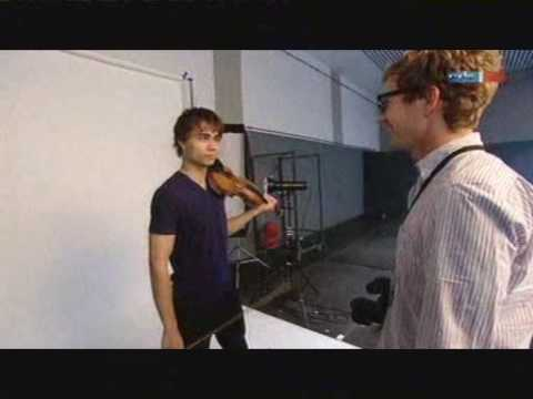 Alexander Rybak MDR inteview in Magdeburg Germany